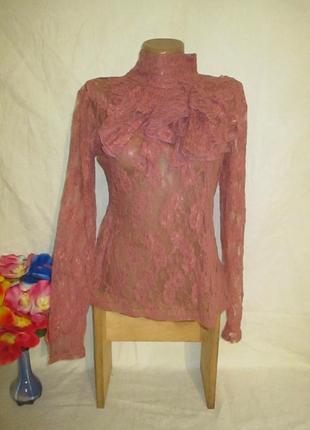 Ажурная блуза  !!!!!!!
