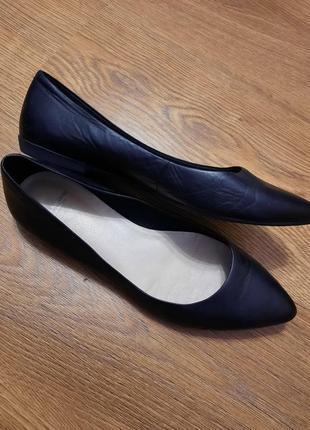 Vagabond кожа туфли лодочки