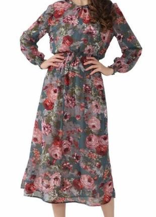 Zara h&m asos платье в цветочный принт h&m asos manro zara