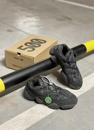 Кроссовки женские adidas yeezy boost 500 black