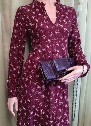 Платье , туника бордовое с белым , l , 95% полиэстер+эластан , выработка ткани в рубчик