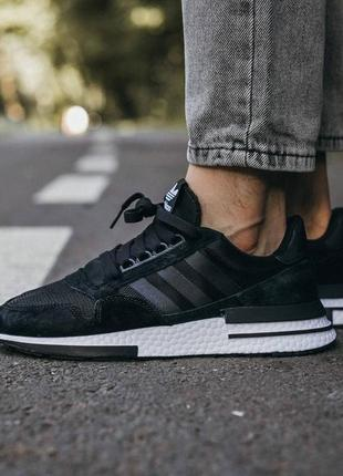 Adidas zx 500 rm мужские кроссовки наложка