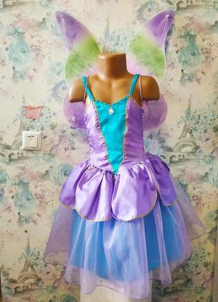 Платье феи , карнавальный костюм, крёстная фея