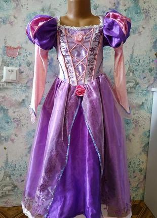 Карнавальный костюм , платье рапунцель принцесса