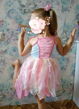 Платье волшебницы,фея, карнавальный костюм