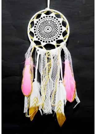 Ловец снов перья кружева винтажный стиль
