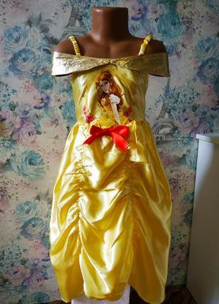 Платье белль принцесса красавица и чудовище