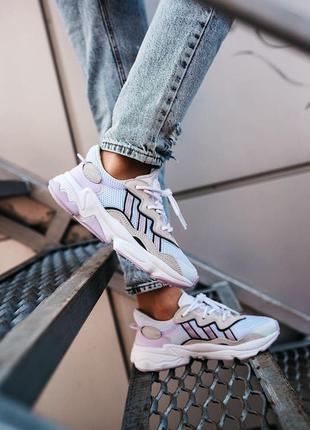 Adidas ozweego женские кроссовки наложка