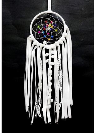 Красивый ловец снов кольцо текстиль