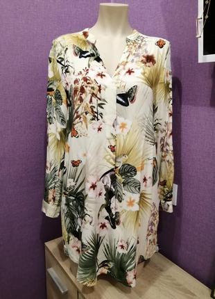 Блузка рубашка платье м-л