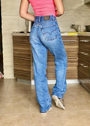 Широкие джинсы палаццо levis высокая посадка талия