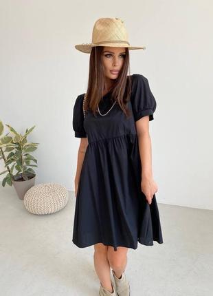 Женское платье, короткое платье, нарядное платье, чёрное платье