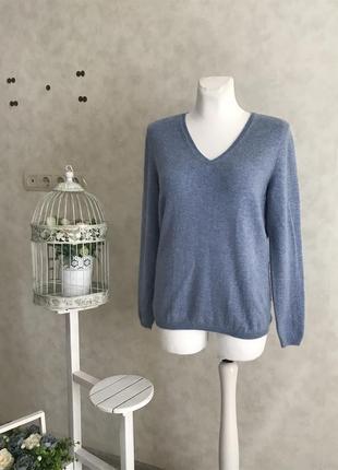 Нежнейший кашемировый свитер цвета неба 💯 % кашемир 🐐