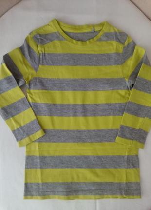 Лонгслив, футболка с длинным рукавом kiki&koko р.110