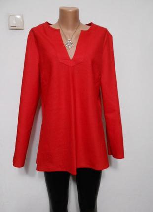 Льняная блуза рубаха в стиле бохо большой размер батал плюс сайз