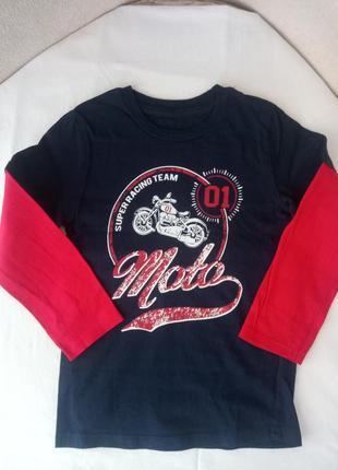 Лонгслив, футболка с длинным рукавом gee jay