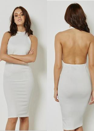 Акция только сегодня 🎈 белое миди платье. платье футляр новое missguided