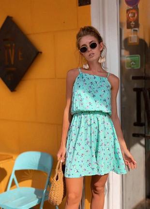 Женское стильное платье сарафан легкий летний 🥰