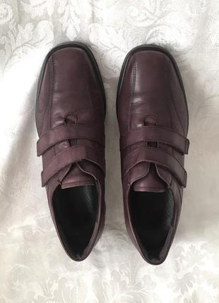Кожаные туфли нат.кожа мягкие