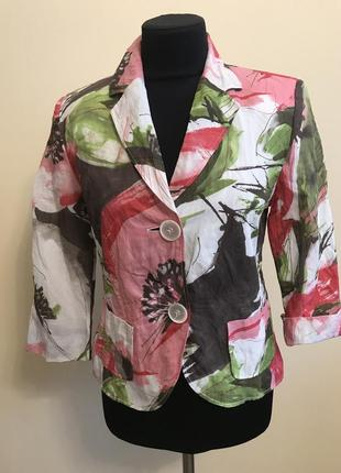 Фирменный пиджак  летний gerry weber