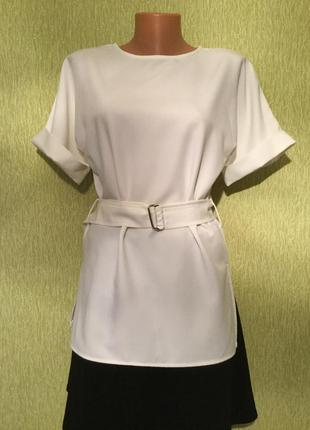 Блузка с поясом asos размер 8