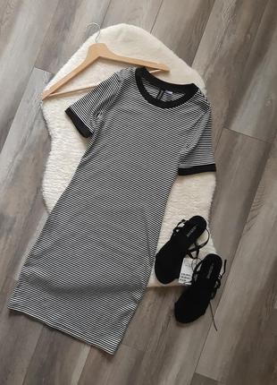 Sale🔥завжди актуальні!!! сукні в рубчик від h&m в розмірі xs та s