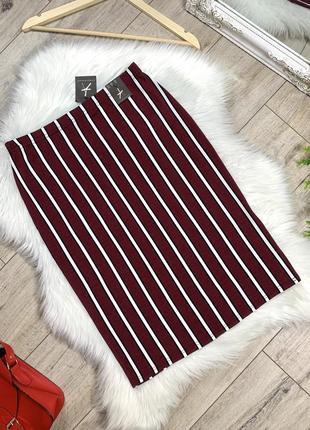 Неплотная облегающая юбка с биркой