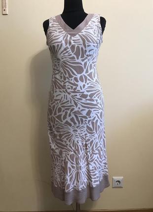 Платье миди натуральное soon шри-ланка