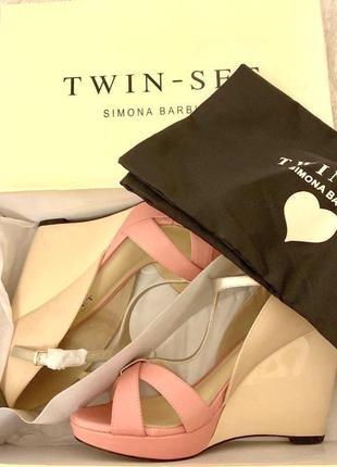 Люкс 🇮🇹 босоножки твин сет twin set италия