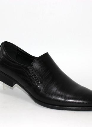 Классические мужские туфли wb-10 black