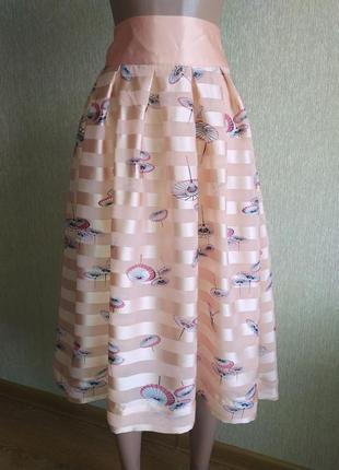 Красивейшая фирменная юбка, новая ,р.38