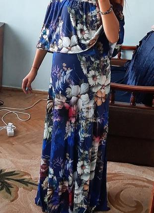 Шикарне довге святкове плаття\платье в пол