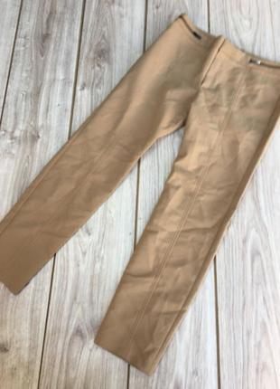 Стильные актуальные брюки h&m тренд беж