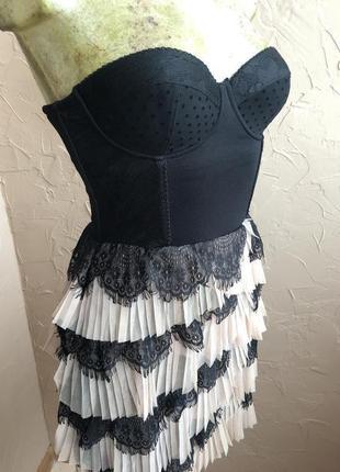 Роскошное корсетное платье h&m