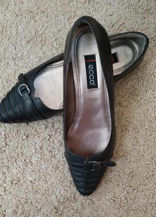 Ecco оригинал кожаные туфли