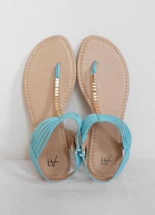 Босоножки сандалии на низком ходу 🌿
