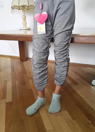 Штанці для модниці 9 років .18% віскоза