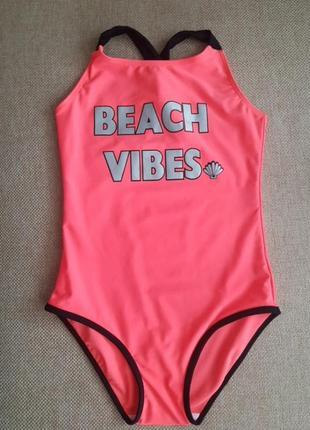 Суцільний купальник  beach vibes