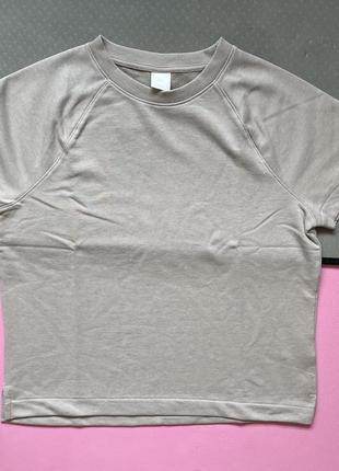 Футболка теплая женская h&m, жіноча футболка.