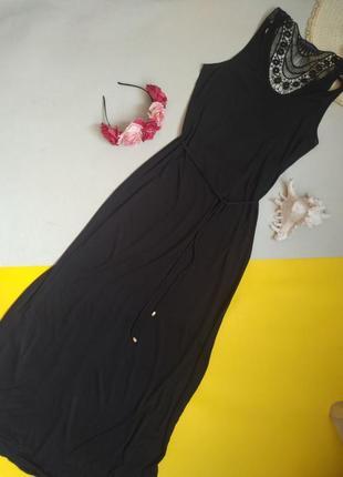Черный сарафан