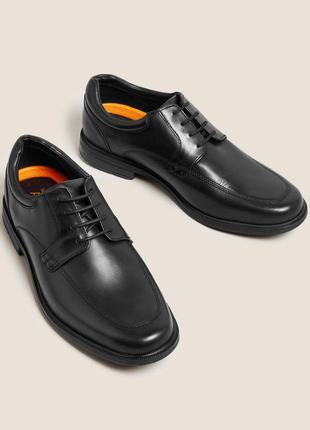Новые натур. кожаные оксфорды туфли дерби