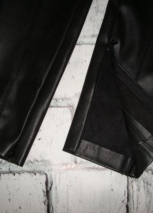 Кожаные женские леггинсы от zara испания5 фото
