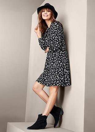 Женское платье с ромашками tcm tchibo.