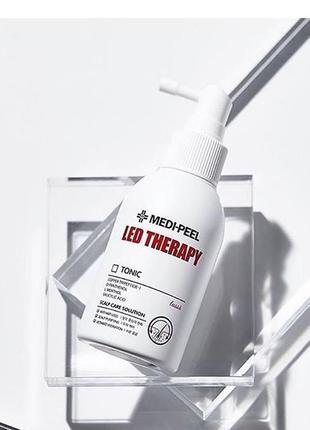 Укрепляющий тоник для волос спептидамиmedi-peel led therapy tonic
