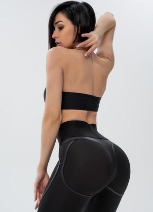 Фирменные лосины пушап bona fide: extra sex corsage mrl black skin