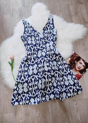 Женский льняной сарафан платье из натурального льна