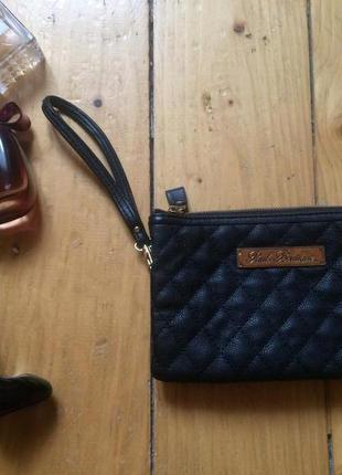 Клатч сумка черная кошелек