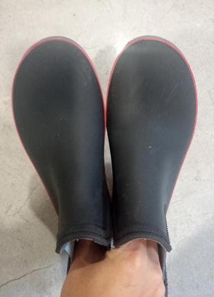 Гумові чоботи, резиновие сапоги2 фото