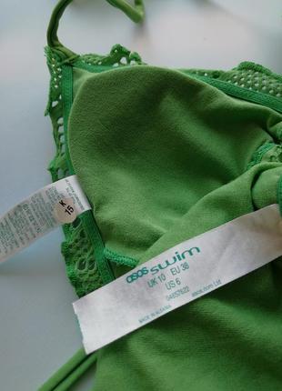 Купальник в стиле кроше плавки на завязках бразилиана7 фото