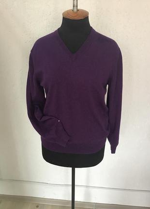 Свитер пуловер шерсть мериноса